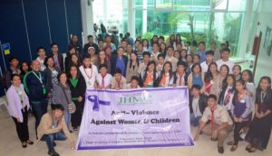 JHMC addresses the issues on domestic violence