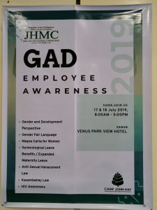 JHMC: A Gender Responsive Workplace