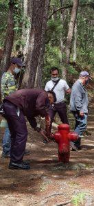 Ocular inspection of fire hydrants